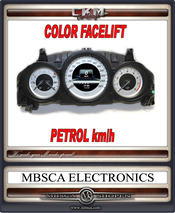 Facelift COLOR speedometer PETROL km/h