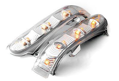 Clera glas mirror turnsignals. 2pcs set.