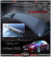 2. Roof Spoiler in carbonfber.