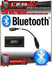 BLUETOOTH audio streaming via Media aux kit