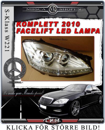 Facelift Clearglas frontlights 2pcs