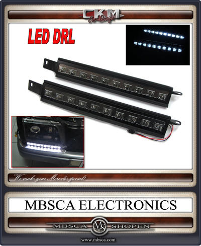 LED DRL dagljus 2st