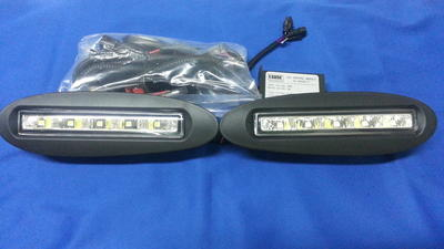 Clearglas LED Fogs 2 pcs set for bumper.99-02