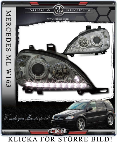 Clear frontlights DEVIL Eyes 2 pcs set
