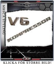 V6 Kompressor emblem