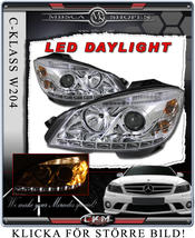 "Clearglas headlights ""Devil eyes"" DRL LED"