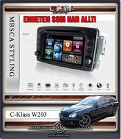 "C4. Comand enhet i ""MB LOOK"" DVD GPS Bluetooth Touch Screen mm.."