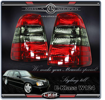 Clearglas Taillights Wagon 2pcs Red/Smoke