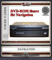 C2d.DVD navigationreader for Comand APS E-clas W211 and CLS W219