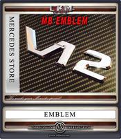 V12 Emblem