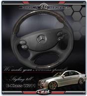 "wheel black Leather/Wood ""Sport"" FACELIFT"