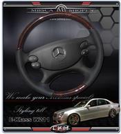 wheel black Leather/Wood FACELIFT
