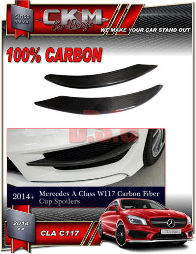 1.Carbon front trims 2pcs