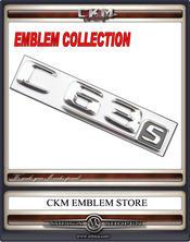Emblem C63s trunk