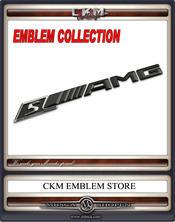 AMGs emblem baklucka. . BLACK