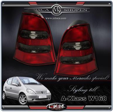 Baklysen Facelift avantgarde Red/Smoke 2 pcs