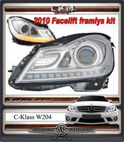 "Clearglas headlights  ""Light bar"" DRL LED V2"