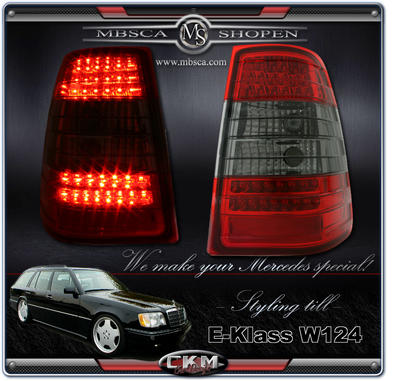 Clearglas Taillights Wagon 2pcs Red/Smoke LED