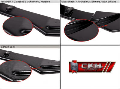 1. CKM front lip