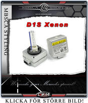 Xenon D1S replacement bulbs for car with original xenons.