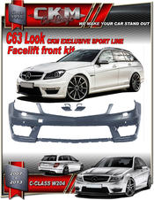 "1. CKM Facelift ""AMG look"" front"
