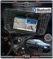 C4. Facelifting Produkt 13 Comand NTG 2.5 Bluetooth