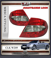 Clearglas facelift AMG taillights red/smoke