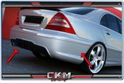 "1. CKM Spoiler kit BAK ""C63 AMG W204 LOOK"" 1st"