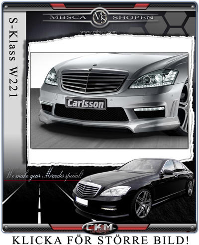 3. Carlsson lip for the Carlsson spoiler