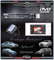 DVD-player and interfacepackage for comand 2.0
