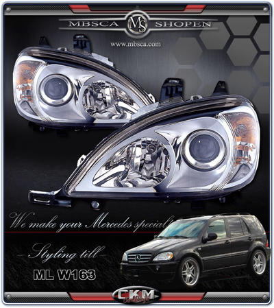 Clear frontlights Projector 2pcs.