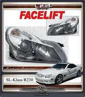 Klarglas FACELIFT headlight Xenon Black 1pcs