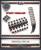 Pedals in alu MB Original Aut