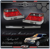 Clearglas taillights Red/Smoke 95-98  3 pcs