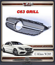 1. AMG C63 look grill
