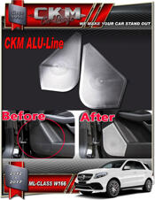 Alu-Line 2 st Alu speaker look panels front.