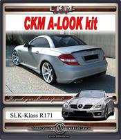 """1. CKM """"A-look"""" rear bumper kit"""