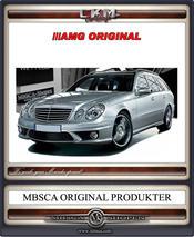 3. W211 AMG ORGINAL E63 Front 02-06