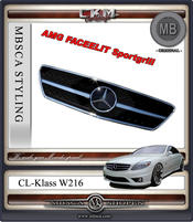 Grill AMG Faclelift sport 1 st MB ORIGINAL 1rib