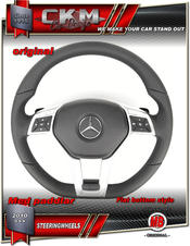 1. Steering Wheel AMG OEM black Leather/perforated