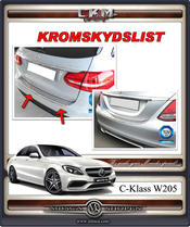 Chrome bumper covers 1pcs